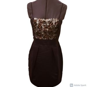 Dresses & Skirts - Beautiful Black Dress with Sequins